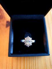 Neuer Diamant Ring aus Roségold
