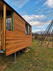 Bauwagen Tiny House Schäferwagen Gartenhaus