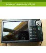 Ricoh Digitalkamera mit Videofunktion CX3