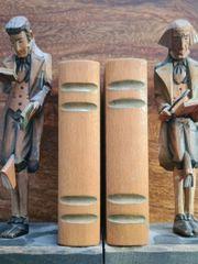 2 antike Buchstützen sehr schön
