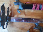 3-teiliges Katana Set Samurai-Schwerter