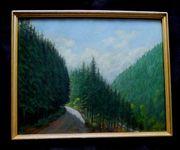 2 Gemälde Weg von Goslar