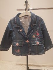 Mädchen Jeans Jacke Gr 86