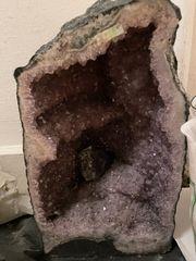 Bergkristall und Amethyst