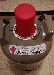 Propangas-Tauschflasche 11kg grau ca 20