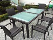MBM Bellini Mocca Gartentisch mit