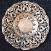Kupferteller ca 45cm Durchmesser