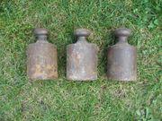 mehrere alte Gewichte Eisengewichte für