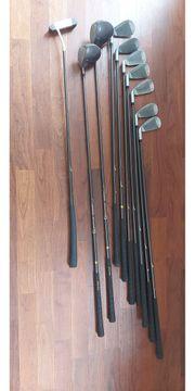 Golfschläger Set aus 10 Schlägern