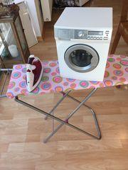 Spielzeug Bügelbrett Kinder-Bügeleisen und Kinder-Waschmaschine