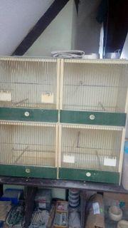 Gebrauchte Kunstoffdoppelzuchtboxen