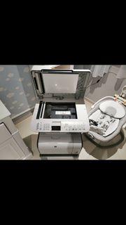 Drucker HP mit passenden UnterSchrank