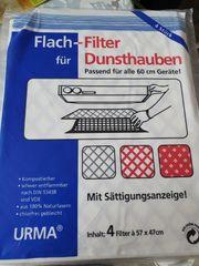 Flachfilter für Dunstabzugshauben 12 Filter