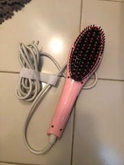 Haarglätterbürste