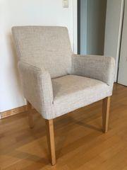 Sessel 2 verfügbar edler Stoffbezug