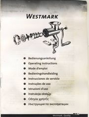 Westmark Fleischwolf