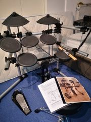 E Schlagzeug Yamaha Roland Pearl