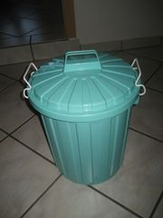 Tonne mit Deckel Wäschekorb Mülleimer