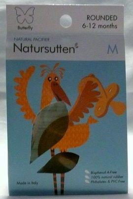Baby- und Kinderartikel - Natursutten Butterfly Rounded Schnuller Gr