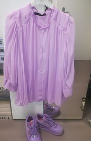 schicke Bluse Zara Gr 36