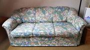 3-Sitzer-Schlafcouch mit Sessel Federkern