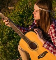 Gitarren for Lady