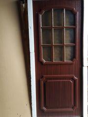 Haustürblatt Innenleben Kunststoff Verglasung Tür