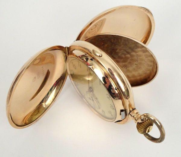 Taschenuhr Antike Gold