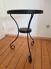 IKEA NORE SUND Beistelltisch schwarz