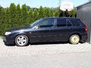 Mazda 323F Ersatzteile-Verkauf Schlachtfest