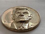 Gedenkmünze Münze Jodok Fink 1854-1929