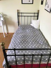Bett aus Metall 90x200 cm