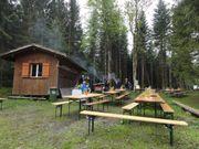 Holzhütte fachmännisch gezimmert ca 8m