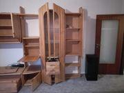 Schrank Wohnzimmer Erle Massiv Echtholz