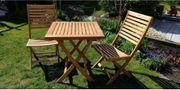 Gartenstühle Massivholz