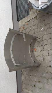 Schornsteinabdeckung aus Edelstahl 650 mm