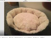 Katzenkissen - Kissen - Nest - Körbchen - kuschlig -