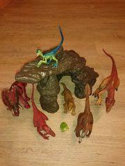 Schleich Dinosaurier Set mit Höhle