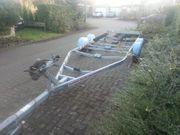 Bootstrailer Boottsanhänger 2600 kg Knott