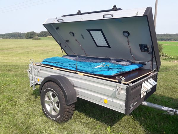 Offroad Anhänger Camping