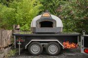Pizzaofen Holzbackofen als Foodtruck inkl