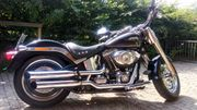 Harley Davidson Fat Boy schwarz