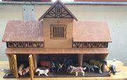 Wunderschöner Bauernhof aus Holz - sehr