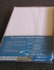 Bettlaken weiß - Leintuch - Betttuch OVP -