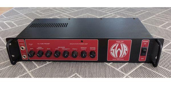 SWR Basic 350 - Bass Amp -