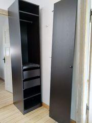 PAX Schrank dunkelbraun IKEA zerlegt