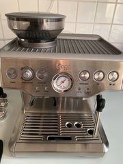 SAGE SES875 Barista Espressomaschine Silber