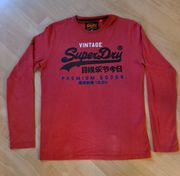 Superdry Shirt in rot Größe