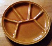 5 Fondue Raclette Teller