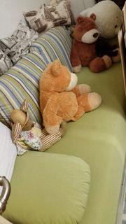 Schlafcouch mit Bettkasten und 2
